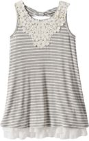 Knitworks Girls 7-16 Striped Bow-Back Dress
