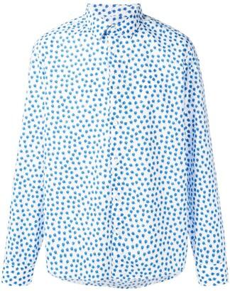 Kenzo Roses slim-fit shirt