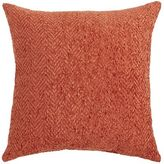 Pier 1 Imports Herringbone Chenille Rust Pillow
