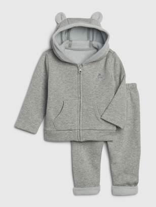 Gap Baby Cozy Brannan Bear Outfit Set