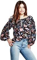 GUESS Women's Isadora Popover Top