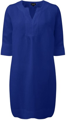 Nologo Chic Life Style Easy Tunic Dress - Oxford Blue