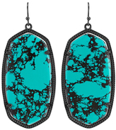 Kendra Scott Danielle Earrings, Teal Magnesite
