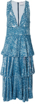 Cynthia Rowley Bondi Sequin Ruffle Dress