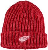 adidas Women's Red Detroit Red Wings Team Color Cuffed Knit Hat
