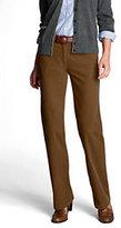 Classic Women's Boot Cut Corduroy Pants-Cherry