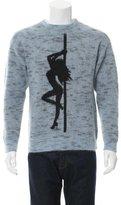 Alexander Wang Mohair-Blend Intarsia Sweater w/ Tags