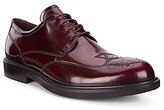 Ecco Men s Kenton Brogue Patent Leather Lace-Up Wing Tip Oxfords