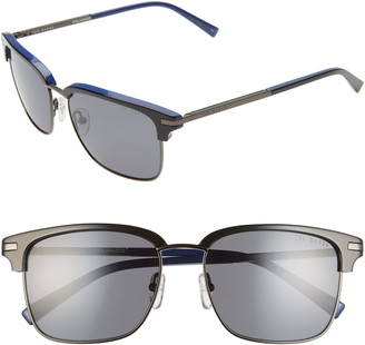 Ted Baker 55mm Polarized Browline Sunglasses