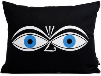 Vitra 'Eyes' graphic print pillow