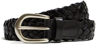 Andersons Woven Leather in Black