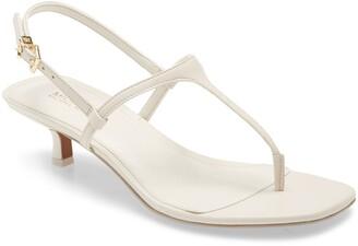 MICHAEL Michael Kors Tasha T-Strap Kitten Heel Sandal