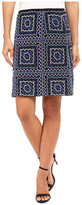 Nanette Lepore Patchwork Mini Skirt