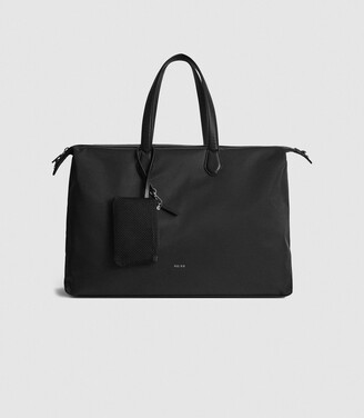 Reiss Jerome - Nylon Weekend Bag in Black