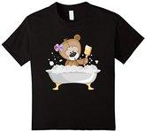 Men's Teddy Bear Bathing T-Shirt Large