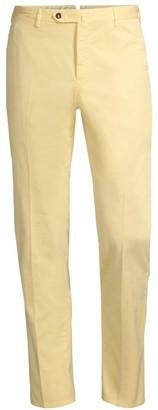 Pt01 Slim-Fit Flat Front Cotton Trousers