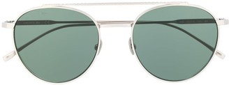 Lacoste L216S round-frame sunglasses