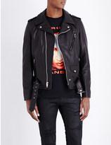 Justin Bieber Purpose tour leather biker jacket