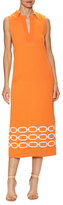 Max Mara Osso Printed Flared Dress