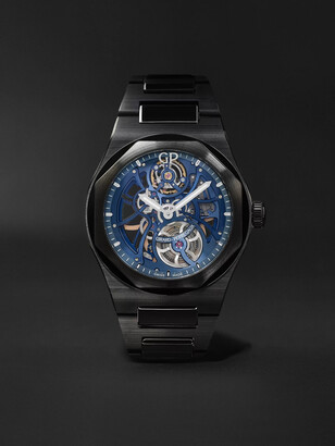 Girard Perregaux Laureato Earth To Sky Automatic Skeleton 42mm Ceramic Watch, Ref. No. 81015-32-432-32a