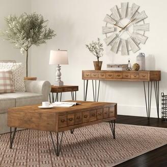 Laurel Foundry Modern Farmhouse Bayle 3 Piece Coffee Table Set