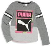 Puma Toddler's & Kid's Long Sleeve Tee