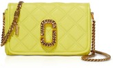 Marc Jacobs The Status Flap Quilted Leather Shoulder Bag