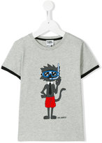 Karl Lagerfeld printed T-shirt - kids - Cotton - 4 yrs
