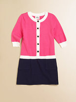 Milly Minis Toddler's & Little Girl's Catie Combo Sweater Dress