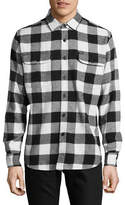 Obey Trent Woven Flannel Shirt