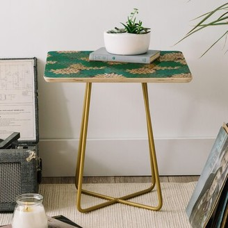 Minted East Urban Home Holli Zollinger Flora End Table East Urban Home
