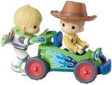Precious Moments Disney / Pixar Toy Story Woody & Buzz Musical Figurine by