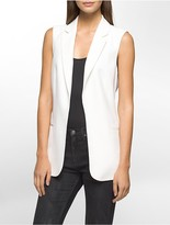 Calvin Klein Soft Suit Open Vest