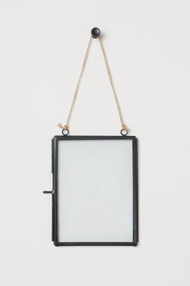 H&M Metal Photo Frame - Black
