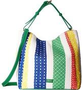 Frances Valentine - New Medium June Woven Stripe Hobo Hobo Handbags