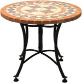 One Kings Lane 24Dia Outdoor Side Table, Terracotta