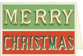 Cavallini Merry Christmas Boxed Notes