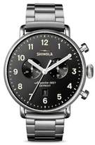Shinola The Canfield Chronograph Bracelet Watch