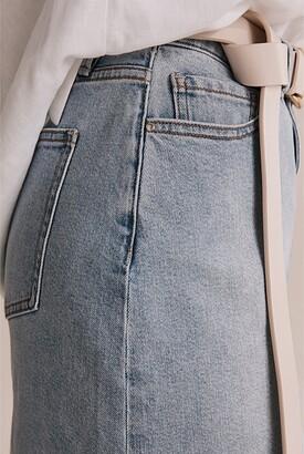 Country Road Australian Cotton Denim Mini Skirt