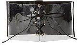 Charlotte Russe Clear Corset Waist Belt