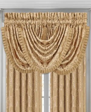 J Queen New York Five Queens Court Colonial Waterfall Valance Bedding