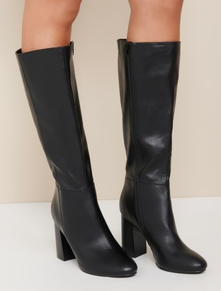 Forever New Jessica Knee-High Boots - Black - 36