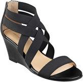 Liz Claiborne Rockele Stretch Wedge Sandals