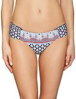 Lucky Brand Women's Venice Vibes Side Sash Hipster Bikini Bottom