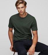 Reiss Jewels - Crew-neck T-shirt in Green, Mens