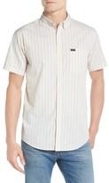 Brixton Men's 'Howl' Short Sleeve Plaid Woven Shirt