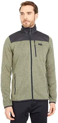 Helly Hansen Varde Fleece Jacket (Lav Green) Men's Coat