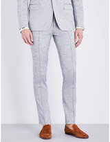 Bally Regular-fit Stretch-cotton And Silk-blend Trousers