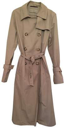 Ramosport Beige Cotton Trench coats