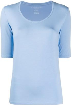 Majestic Filatures scoop neck slim-fit T-shirt